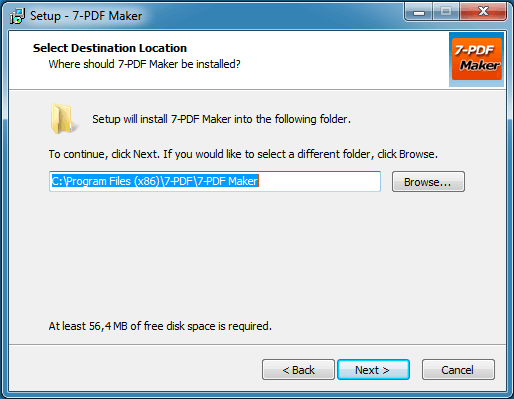 FREEWARE PDF MAKER | Make a PDF from over 80 file formats | 7-PDF