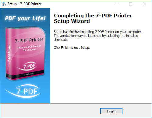 PDF Printer | FREE PDF Writer | Citrix capable | 7-PDF