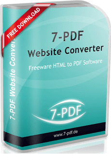 PDF Website Converter | URL to PDF | 7-PDF