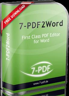 PDF to Word Converter | 7-PDF