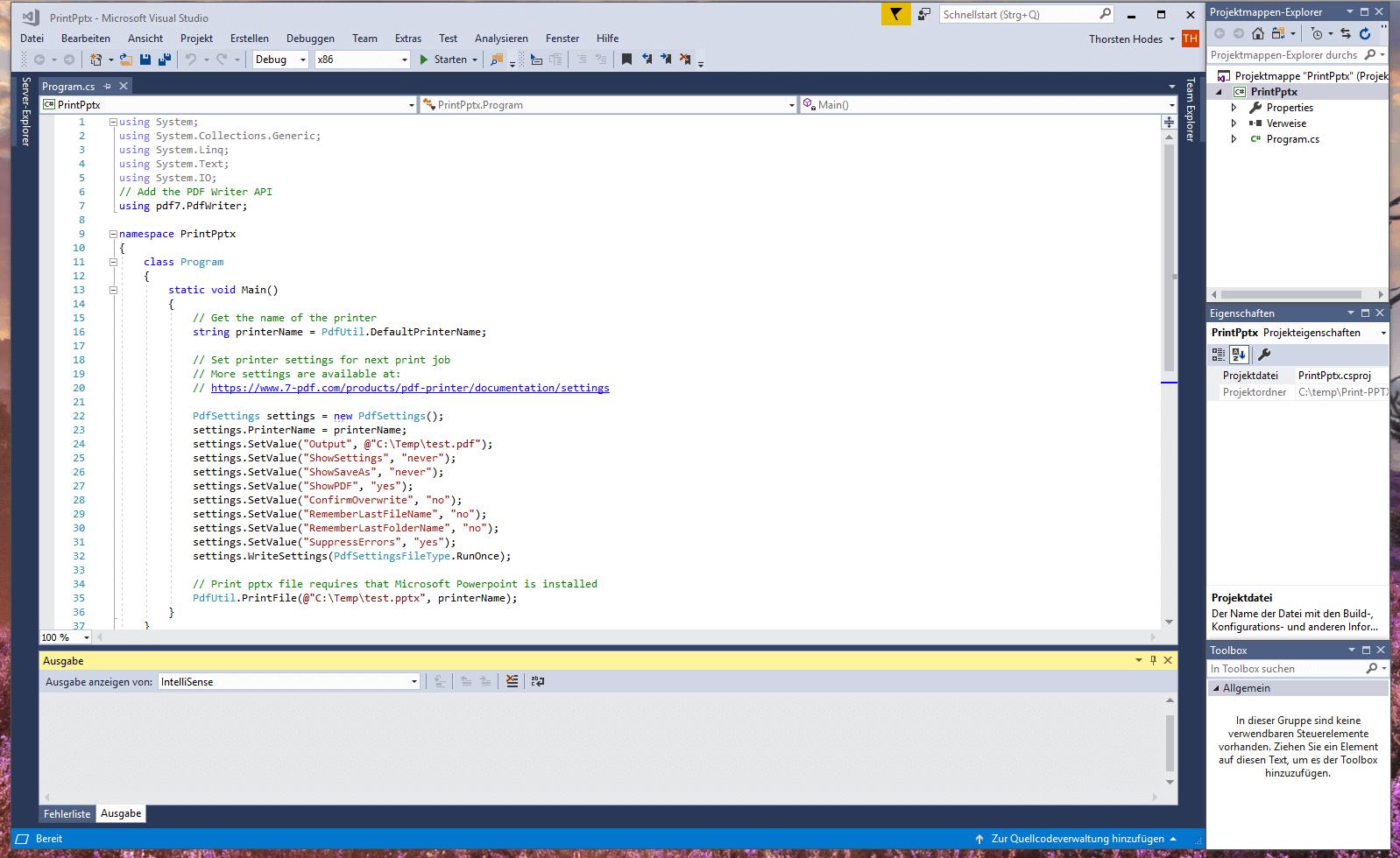 PDF API for software development | 7-PDF