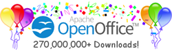Official website of OpenOffice